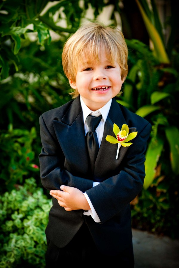 San Diego Wedding Photography: True Photography captures cute ring bearer in San Diego
