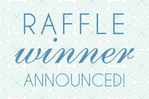 raffle winner announcement template