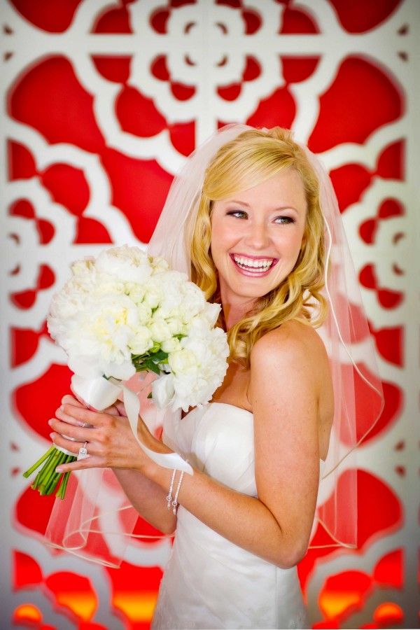 San Diego Wedding Photographers: Red wedding at Riveriera Hotel in Palm Springs