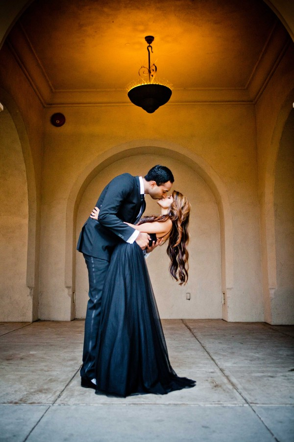 San Diego Wedding Photographers Indian couple at Balboa Park engagement session