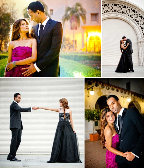 San Diego Wedding Photographer at Balboa Park engagement shoot