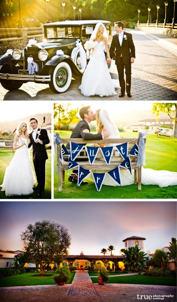 San Diego Wedding Photography of beautiful wedding at the golf course at The Crosby in Rancho Santa Fe, Califonria
