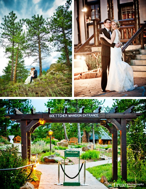 San Diego's Top Wedding Photographer: photographed couple at their wedding at Boettcher Mansion in Colorado