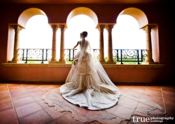 Grand-Del-Mar-Bride-on-Balcony-Bbefore-Wedding