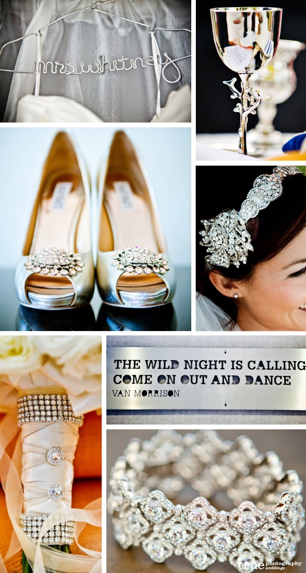 Day 8 Of 12 Silver Wedding Color Inspiration