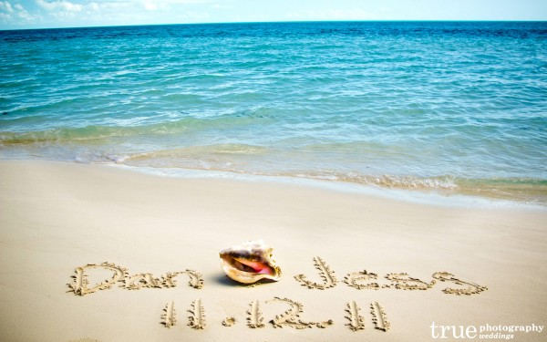 San Diego Wedding Photographers: Destination Wedding in Turks and Caicos on the beach