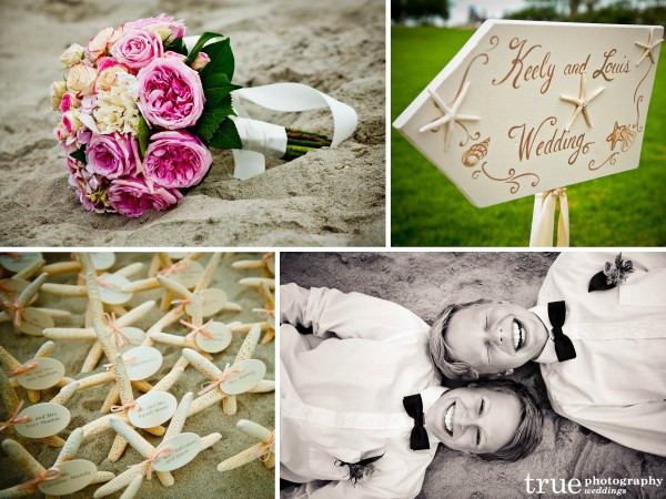 San Diego Wedding Photographer: Beautiful beach wedding in San Diego