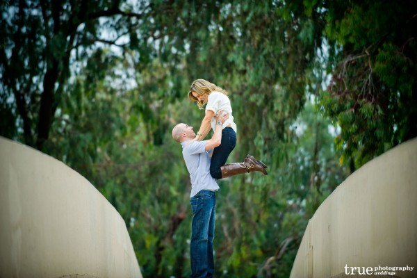 San Diego Wedding Photography: Engagement Photos doing Dirty Dancing