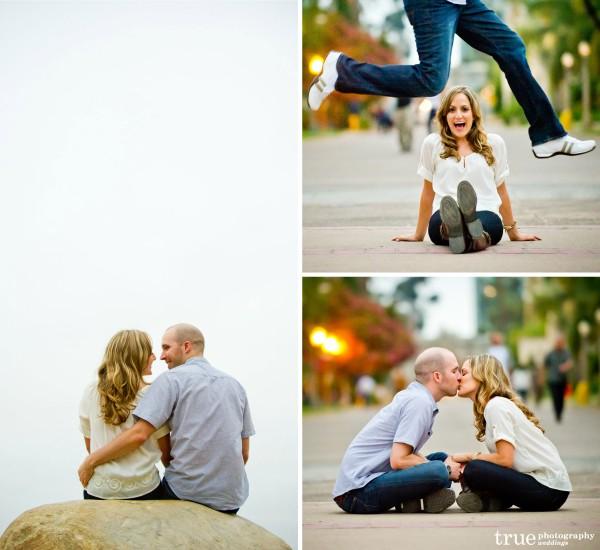 San Diego Wedding Photography: Engagement Photo Shoot in Balboa Park