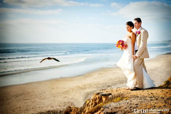 San Diego Wedding Photography: Beach Wedidng Photos at Torrey Pines