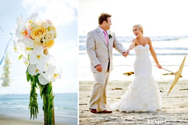San Diego Wedding Photography: Beach wedding photos in San Diego
