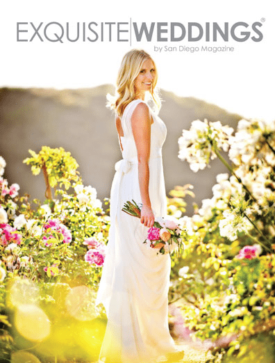 San Diego Wedding Photography submits cover photo for Exquisite Weddings Magazine Cover Contest