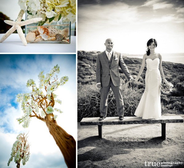 San Diego Wedding Photography: San Diego beach wedding photos at Torrey Pines State Reserve