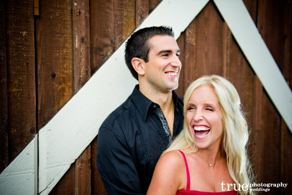 San Diego Wedding Photography: Engagement Photo Shoot in San Diego bride laughing