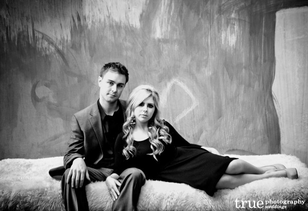San Diego Wedding Photography: Engagement photo shoot at the Andaz Hotel in San Diego