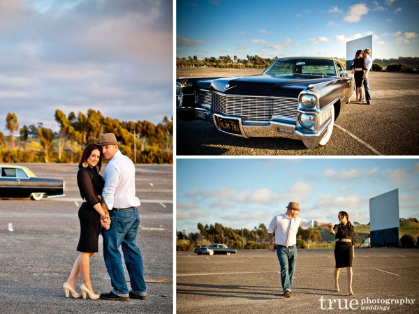 San Diego Wedding Photographers: Engagement photos at the swap meet in Oceanside Calfiornia