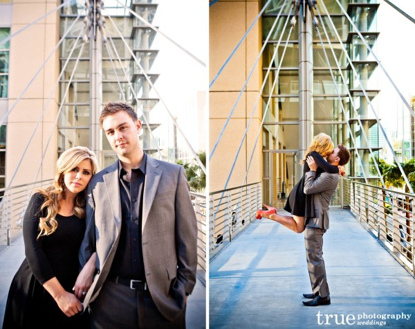 San Diego Wedding Photography: Urban Downtown Engagement Shoot in San Diego