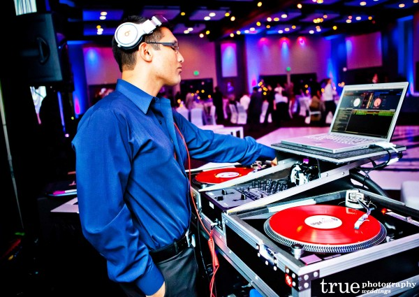 San Diego Wedding DJ during reception at the Hard Rock Hotel