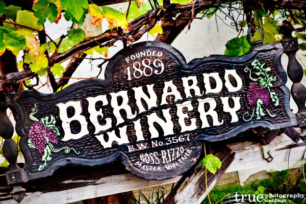 San Diego Wedding Photographers: Bernardo Winery wedding venue in San Diego