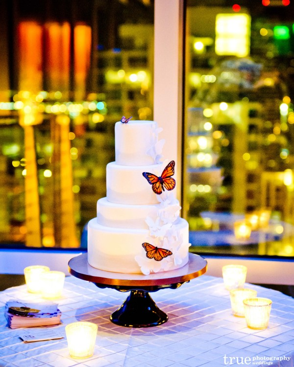 San Diego Wedding Cake by Sweet Cheeks Baking Co.