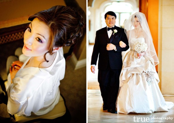 San Diego Makeup Artist during wedding at the Grand Del Mar