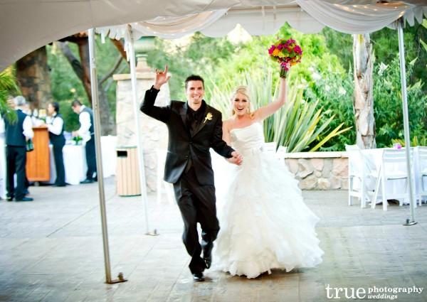 Pala Mesa Wedding with lighting and music by Music Phreek DJ and Lighting