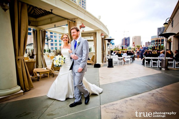 San Diego Wedding at the Manchester Grand Hyatt with Elegant Touch Florals