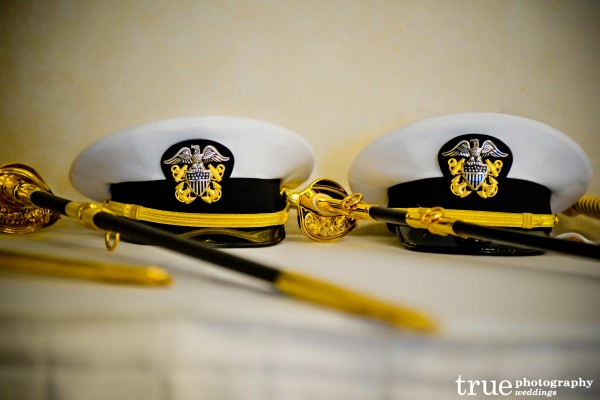 San Diego wedding photography for a military wedding