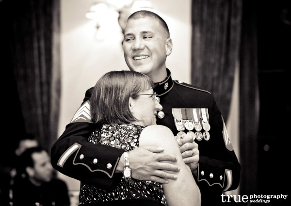 Military wedding in San Diego with True Photography