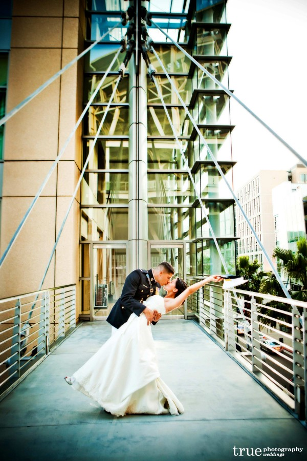 Military Wedding in San Diego photographed by True Photography