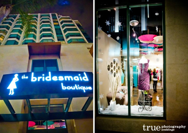 The Bridesmaid Boutique for bridesmaids dresses in San Diego
