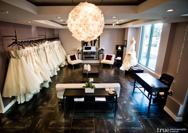 Wedding Dresses at The White Flower Bridal Boutique in San Diego