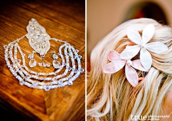 Justin M Couture custom jewelry at the White Flower Bridal Boutique