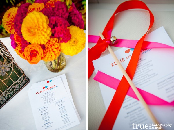 Brightly Colored Wedding at Paradise Point Wedding with Ever After Events