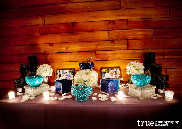 Candy Bar at Scripps Seaside Forum Wedding with I Do Weddings