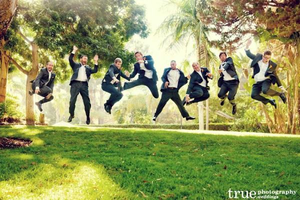 Groomsmen Photo at Paradise Point Wedding with Evert After Events