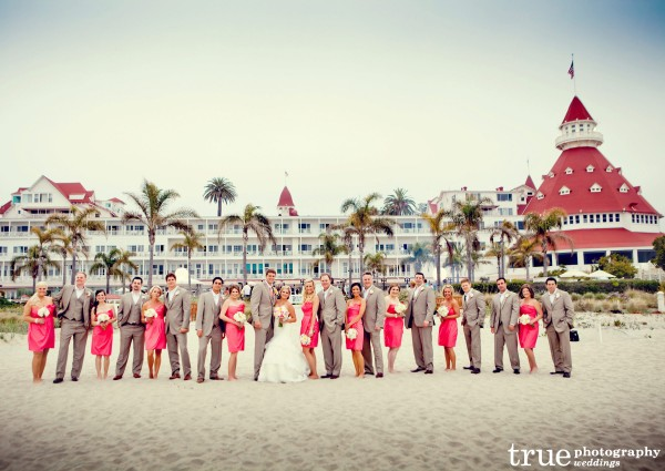Hotel Del Coronado Wedding with Embellishment Floral and Event Studio