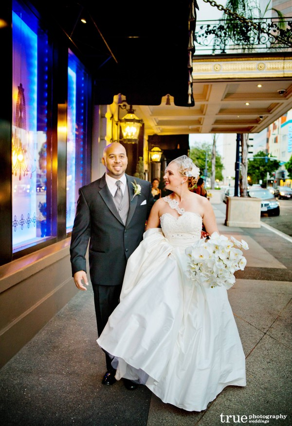 Downtown San Diego Wedding at the US Grant with Swell Beauty