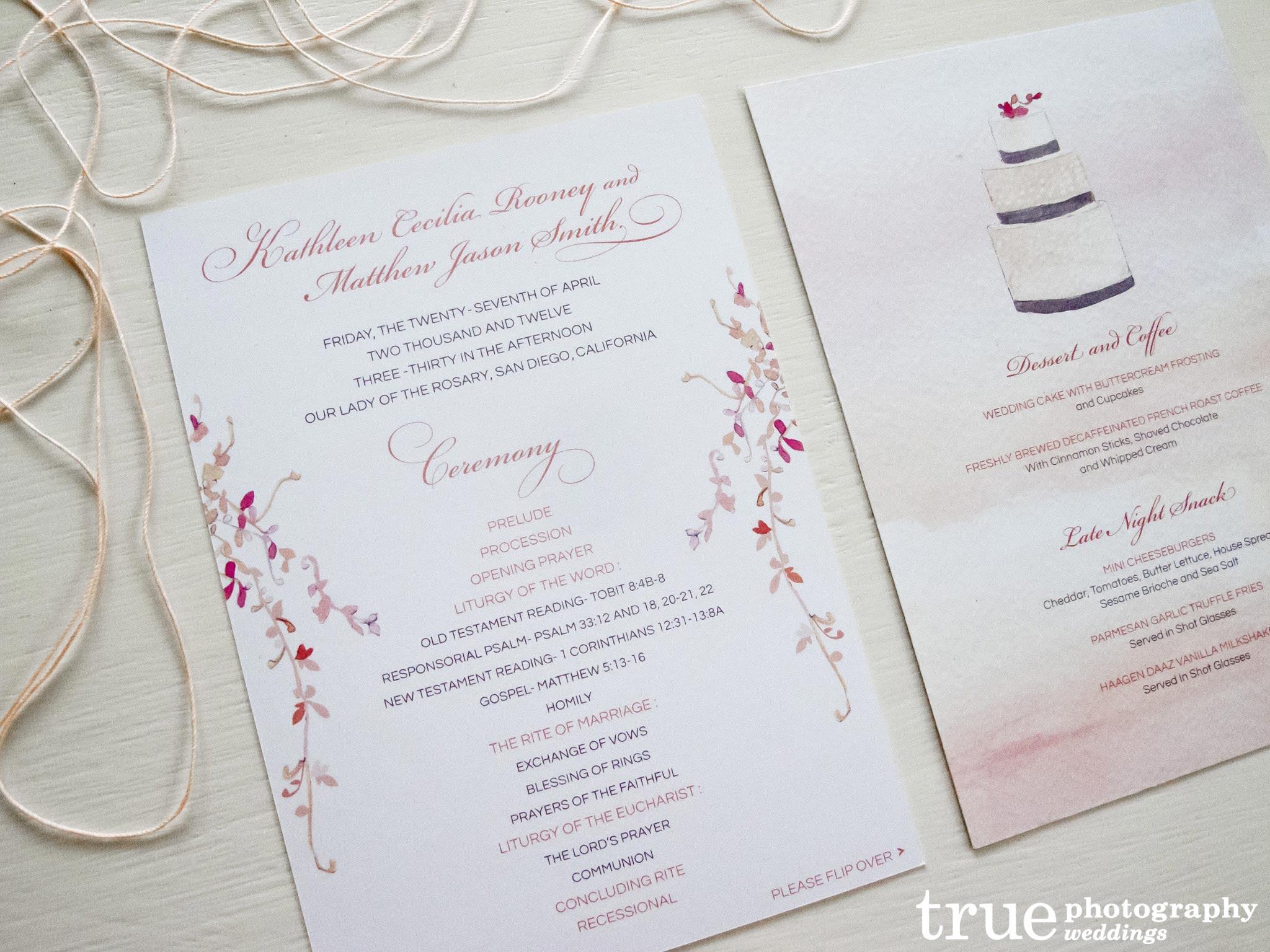 alfie design creates custom watercolor invitations for ultimate