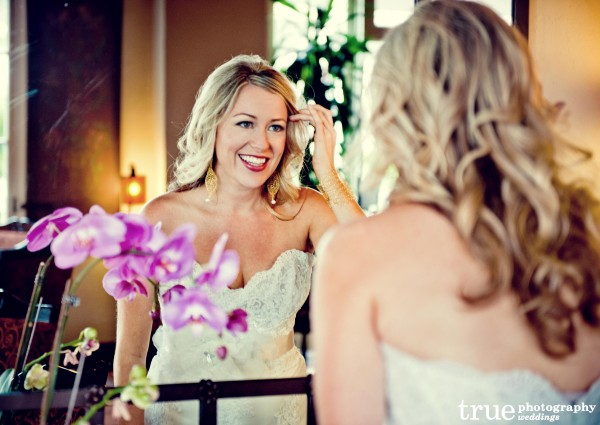 Intimate Beach Wedding with Hair by Revive Salon & Spa