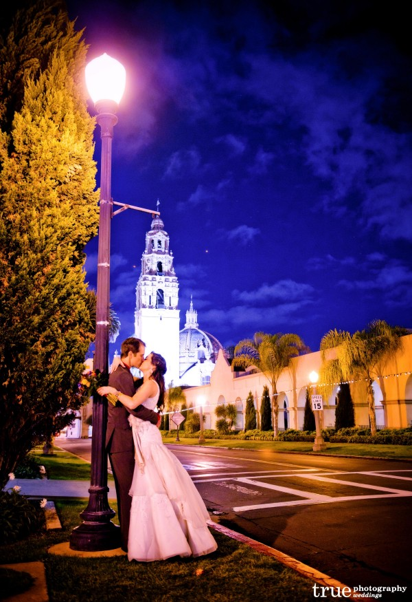 Wedding Ceremony at St Francis Chapel and the Museum of Man in Balboa Park