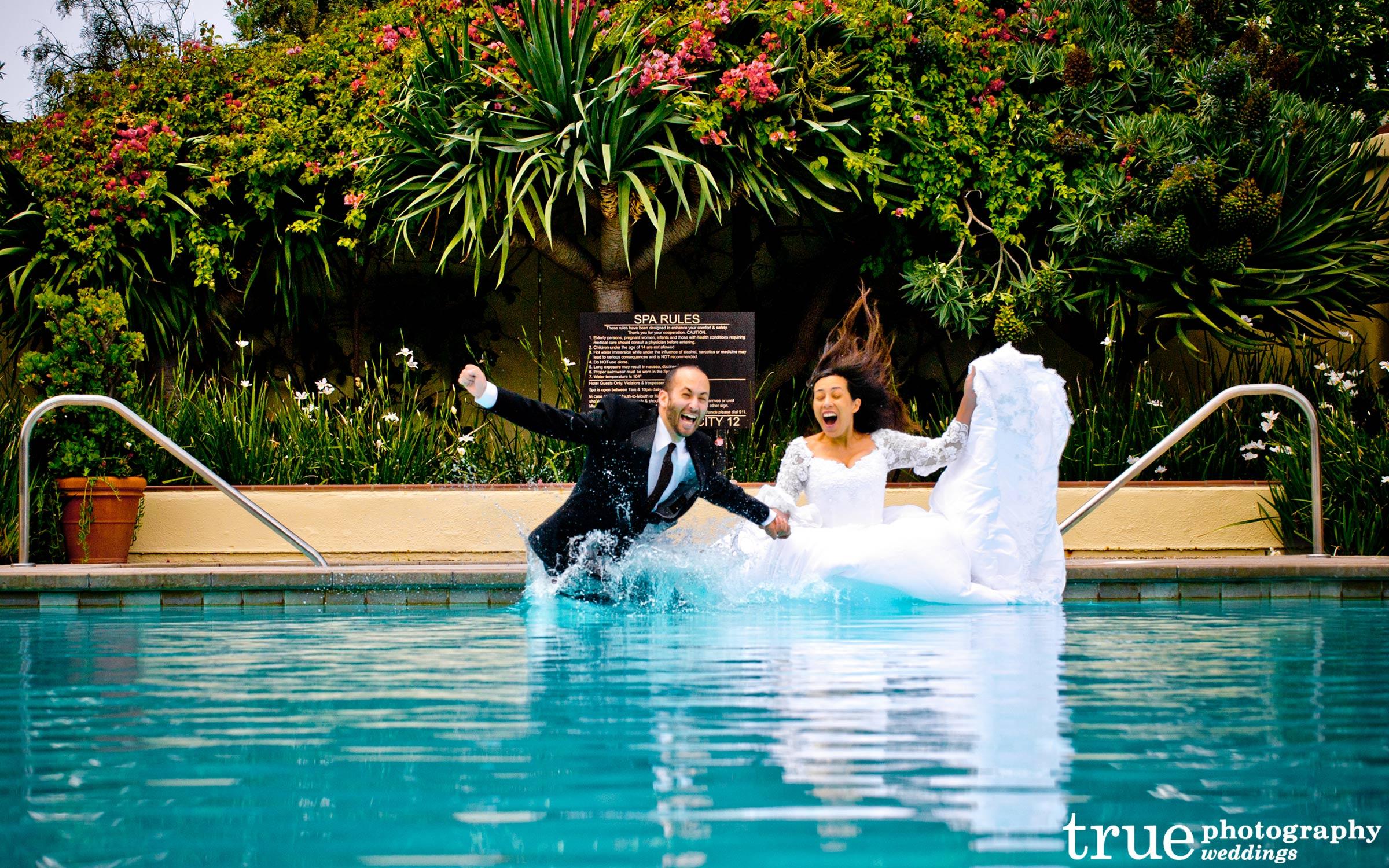 Underwater Engagement Shoot Photos In San Diego