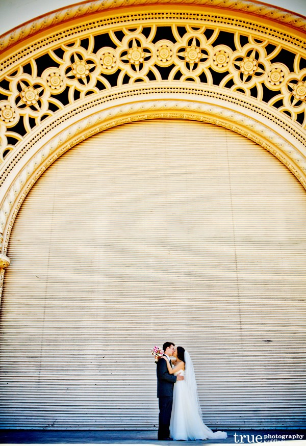 San Diego Wedding Balboa Park with EverAfter Events