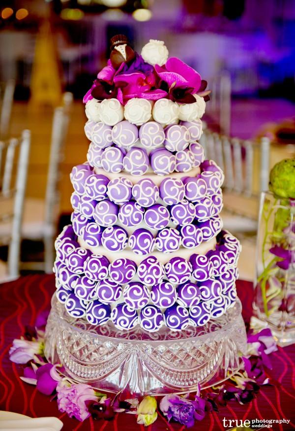 San Diego Wedding Cakes by Cake Ball Love