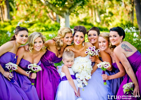 Melissa Rae and Co Makeup for San Diego Wedding at Grand Tradition
