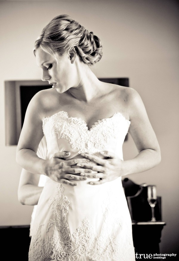 Wedding Hair and Makeup by Swell Beauty in San Diego