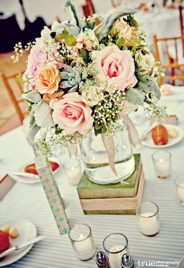 Pastel and Vintage Wedding with Florals by Blush Botanicals