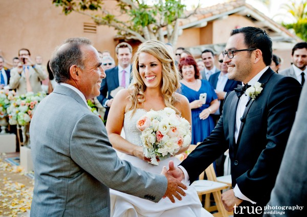 Wedding with Details Defined at Rancho Valencia