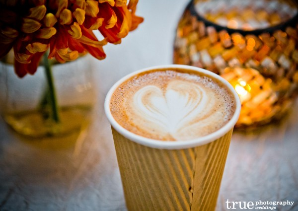 Couture Coffee for Marina Village Engagement Party in San Diego