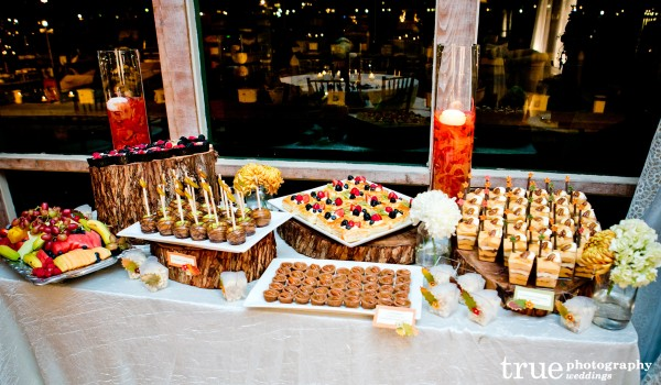 Dessert Table for Marina Village Engagement Party in San Diego